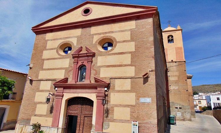 Iglesia de Nuestra Señora de las Angustias (Nacimiento - Almería)