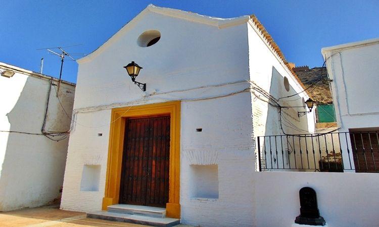Santuario de la Virgen de las Angustias (Tabernas - Almería)