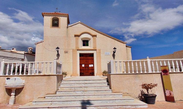 Iglesia de San Roque (Benitorafe - Tahal - Almería)