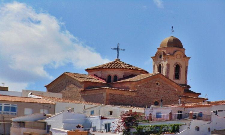 Iglesia  de Santa María (Uleila del Campo - Almería)