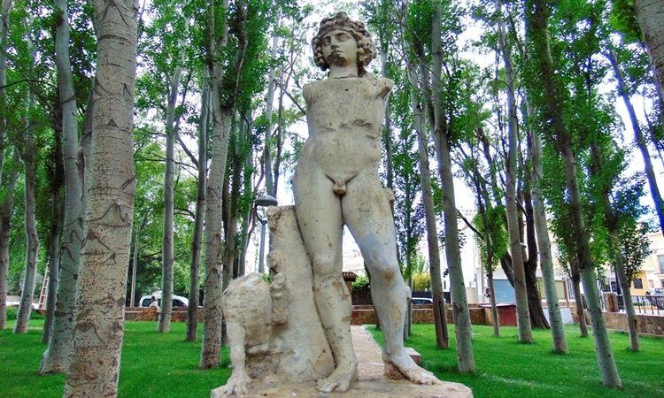 Statue of Dionysus (Chirivel - Almeria)