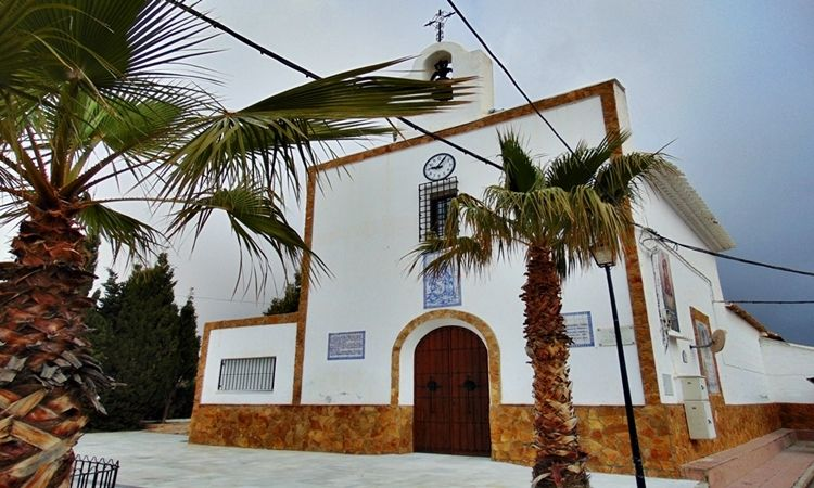 Church of Carmen (Llano de los Olleres - Albox - Almeria)