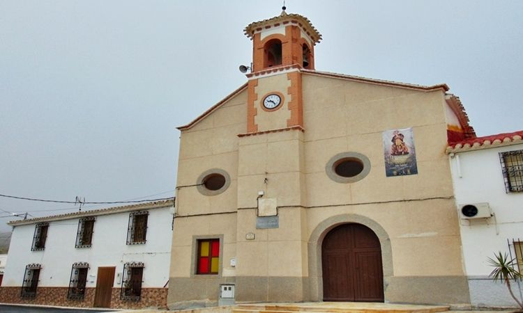 Church of Saint Barbara (Las Pocicas - Albox - Almeria)