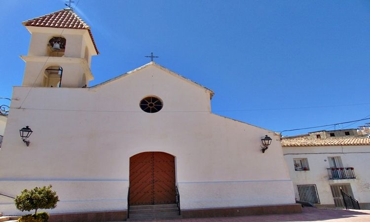 Church of Santiago Apostle (Alcontar - Almeria)