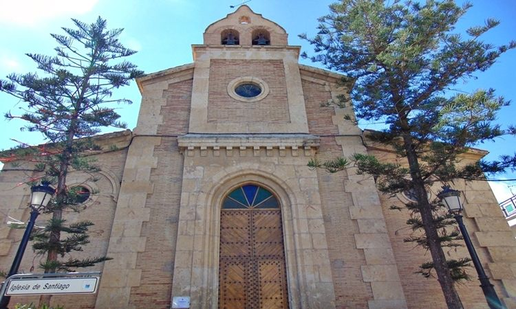 Church of Santiago (Arboleas - Almeria)