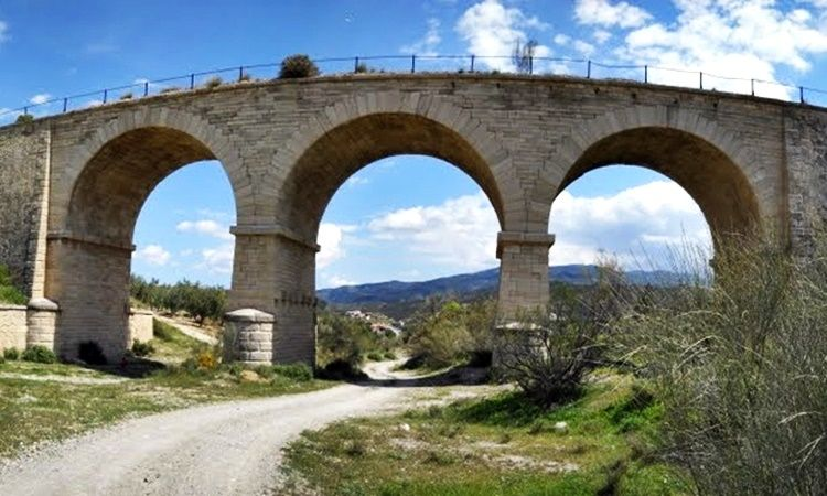 Bridge of the Three Eyes (Armuña de Almanzora - Almeria)