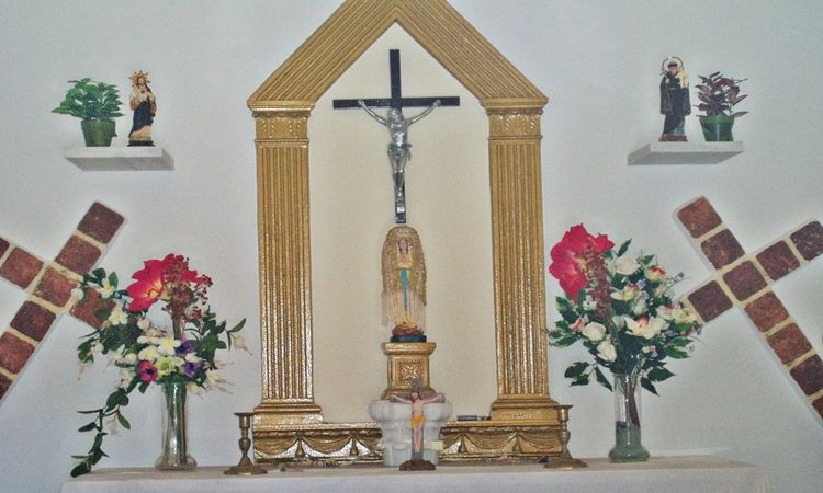 Virgin of Lourdes Hermitage (Bayarque - Almeria)