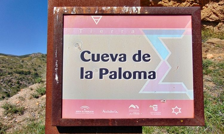 The cave of the pigeon (Bayarque - Almeria)
