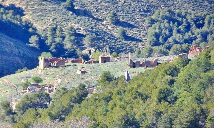 Poblado minero Las Menas (Serón - Almería)