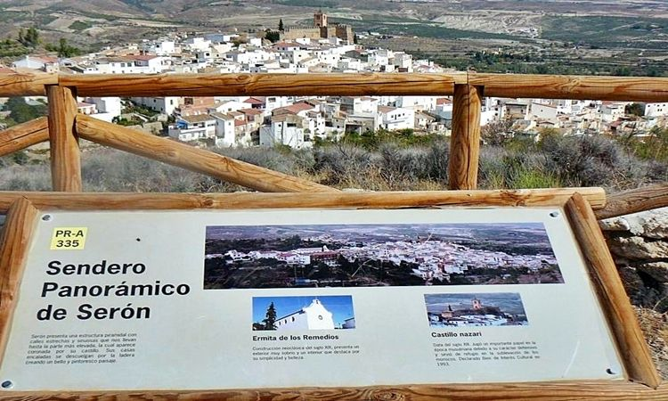 Panoramic viewpoint (Seron - Almeria)