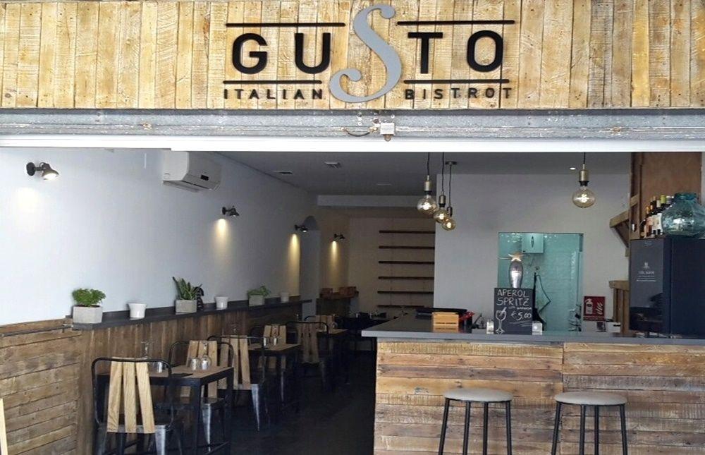 Restaurante Gusto Italian Bistrot - Las Negras (Cabo de Gata - Almería)