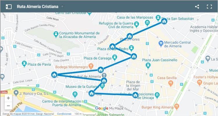 Ruta Almería Cristiana