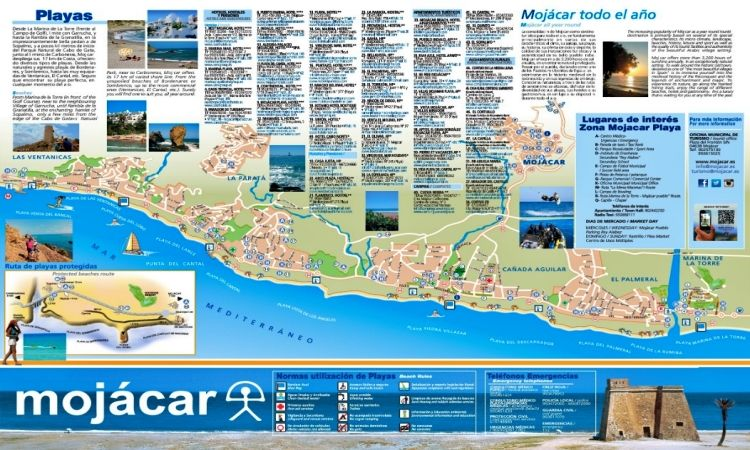 Plano de Mojácar Playa