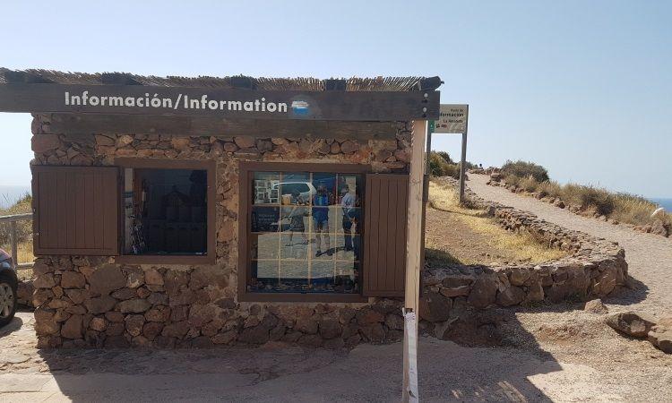 Punto de Información Turística del  Mirador de La Amatista (Cabo de Gata - Almeria)