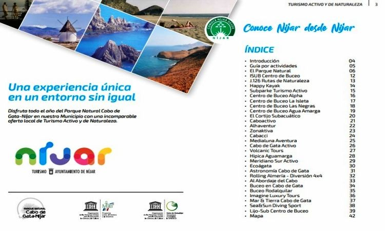 Active & Nature tourism in Cabo de Gata