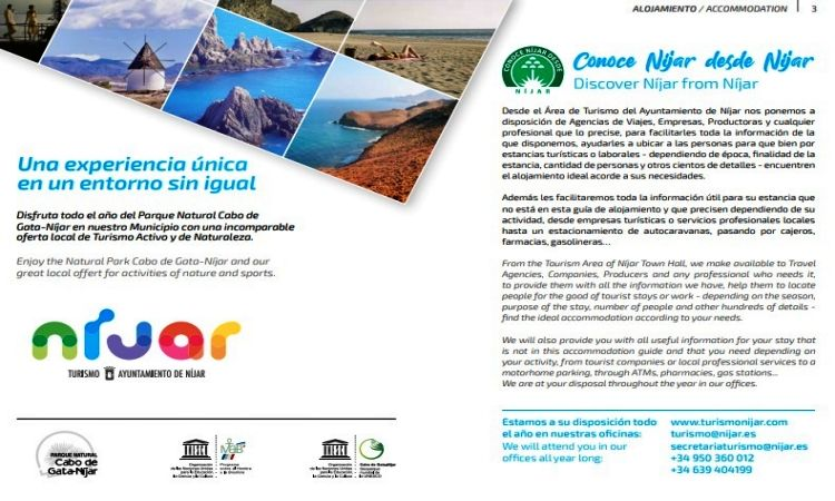Accommodation guide in Cabo de Gata
