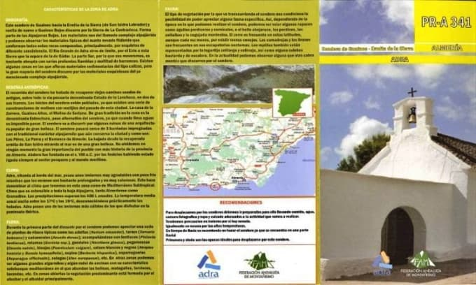 Ruta Guainos (Adra)