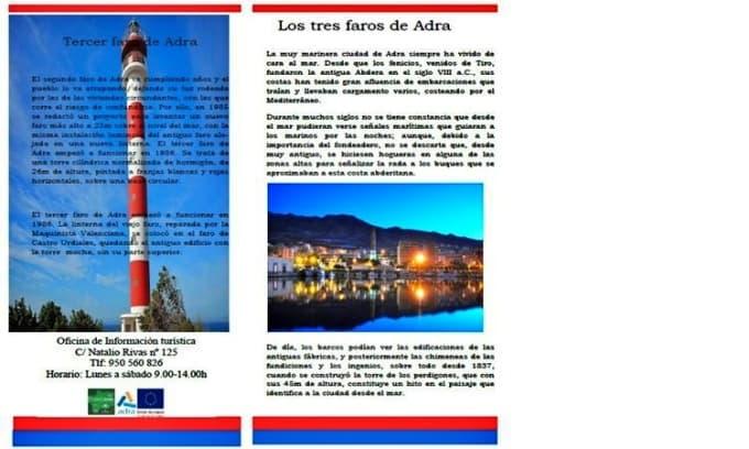 Ruta de los tres faros (Adra)