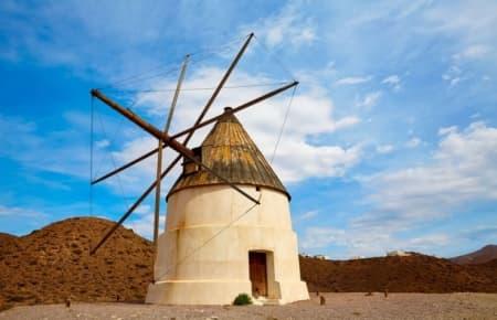 Los Genoveses Windmill (Cabo de Gata - Almeria)