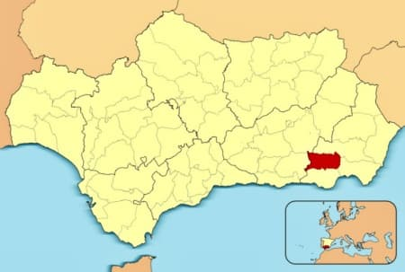 Comarca de la Alpujarra Almeriense