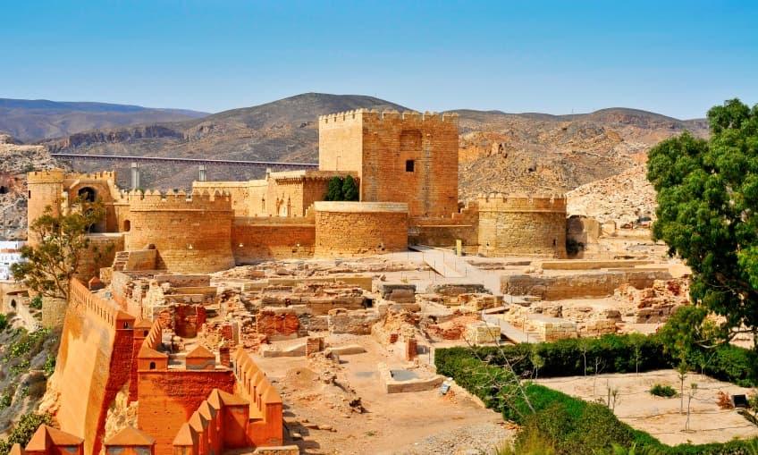 Alcazaba de Almería (España)