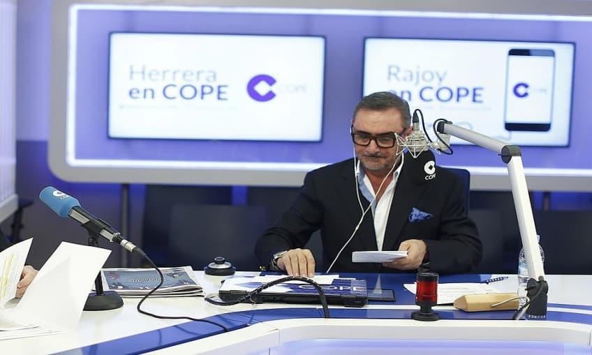 Carlos Herrera in the program Herrera en COPE