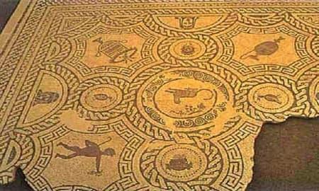 Mosaico de Ciavieja (El Ejido - Almería)