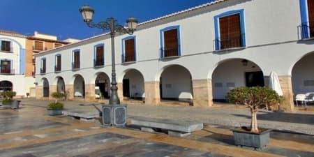 Plaza Porticada (Berja - Almería)