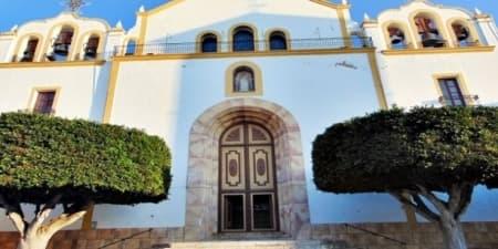 Iglesia de Santa María de Ambrox (Dalías - Almería)