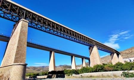 Eiffel Bridge (Santa Fe de Mondujar - Almeria)