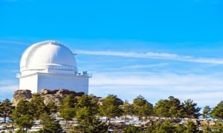 Astronomical Observatory of Calar Alto (Almeria)