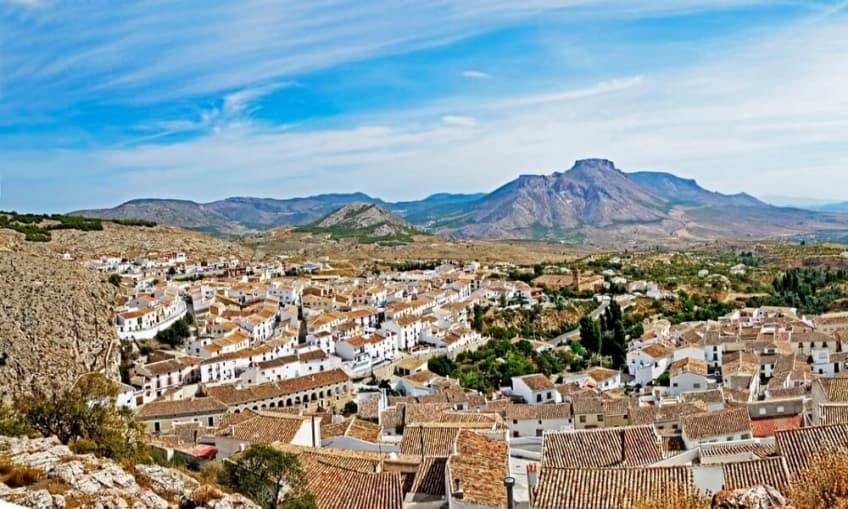 Panorámica de Vélez-Blanco (Almería)