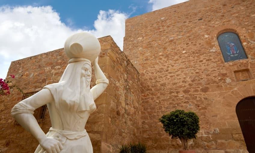 Estatua de la Mojaquera (Mojácar - Almería)